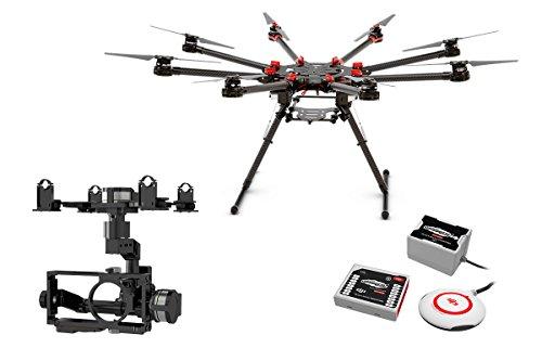 DJI Spreading Wings S1000 + Plus Octocóptero profesional con controlador de vuelo DJI Wookong y cualquier ...