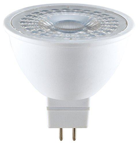 Preisvergleich Produktbild MÜLLER-LICHT 400254 A,  HD95-LED Reflektorlampe Ersetzt 37 W,  Plastik,  6, 5 W,  GU5, 3,  weiß,  5 x 5 x 5 cm