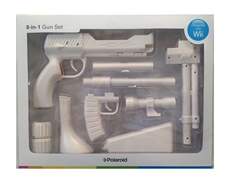 Polaroid Wii Zapper 8-in-1 Gun Set - White
