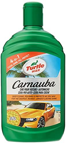 Turtle Wax FG7814 Cera Líquida de Carnauba, Escudo Protector Enriquecida y Limpiadora, 500 ml