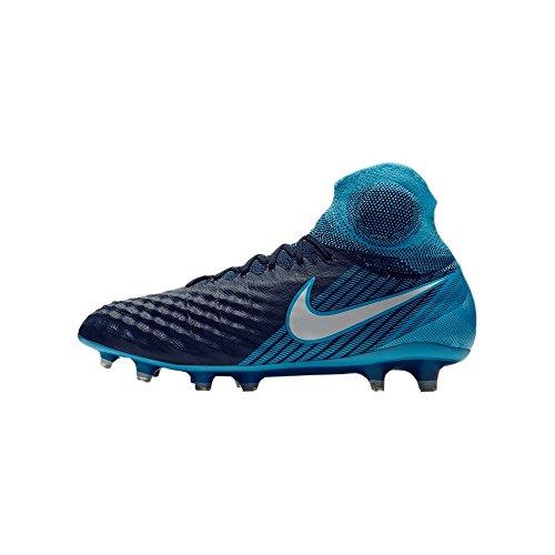 Nike Magista Obra II DF FG, Zapatillas de Fútbol para Hombre, Azul Blau, 41 EU