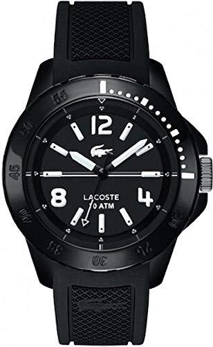 Lace Candle Holder(レースキャンドルホルダー) 0 - Reloj de Cuarzo para Hombre, con Correa de Silicona, Color Negro