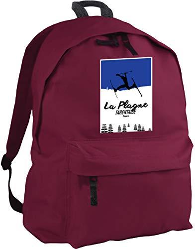HippoWarehouse La plagne Tarentaise France Skiing Backpack ruck Sack Dimensions: 31 x 42 x 21 cm Capacity: 18 litres