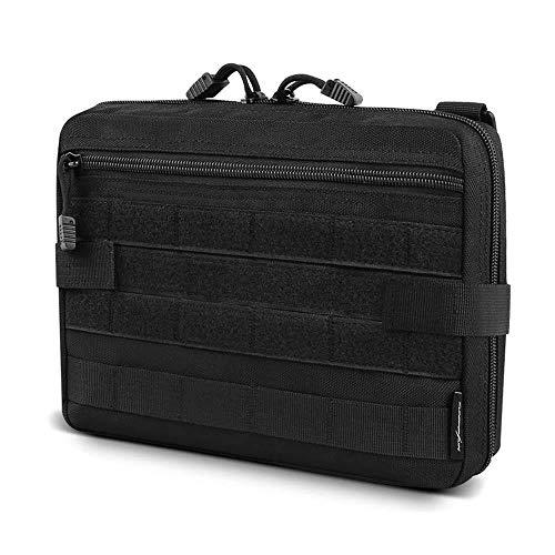 Tactical Admin Molle Pouch EDC EMT Utility Bag Bolsas compactas Resistentes al Agua Herramienta Multiusos Accessary Packs