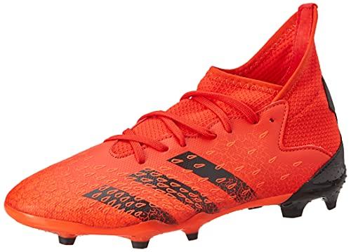 adidas Predator Freak .3 FG J, Zapatillas Deportivas, Rojo/NEGBÁS/Rojsol, 38 2/3 EU