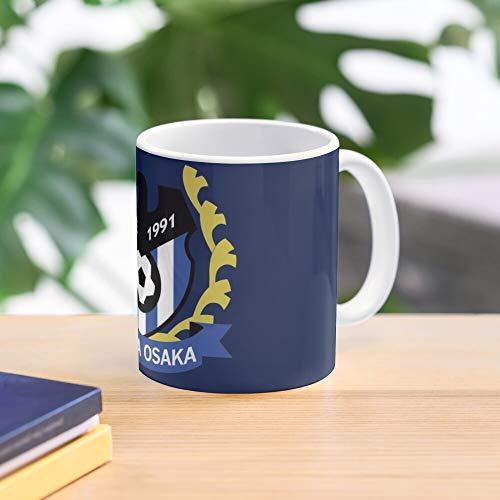 Osaka Crest Mug Gamba Logo Meistverkaufte Standardkaffee 11 Unzen Geschenk Tassen für alle