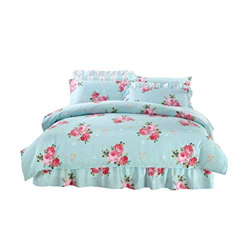 XXT Modestars Bett Rock, bettdecke, Bett Rock bettdecke staubschutz, Haus gefaltete dreidimensionale Bett Rock Textil (Color : B, Size : 1.2m*2.0m)
