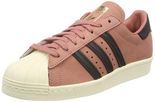 adidas Damen Superstar 80S Fitnessschuhe, Pink (Roscen/Negbas/Blacre 000), 36 EU