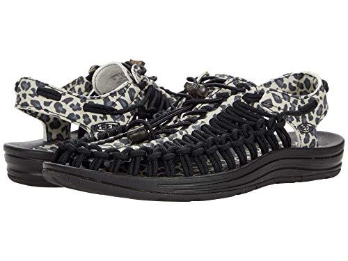 KEEN Women's Uneek Classic Two Cord Sandal, GLR Leopard, 10