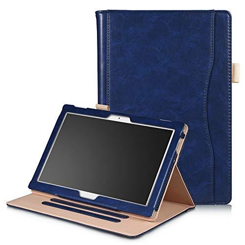 KATUMO Funda para Lenovo Tab E10/Tab4 10/Tab4 10+ Smart Cover con Soporte Función TB-X104F/TB-X304F/TB-X304N/TB-X704F/TB-X704N Carcasa