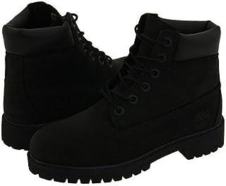 [ティンバーランド] キッズブーツ?靴 6inches Premium Waterproof Boot Core (Big Kid) Black Nubuck 4.5 Big Kid 22.5cm M [並行輸入品]