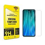 ACTECOM® Protector Pantalla para XIAOMI REDMI Note 8 Cristal Vidrio Templado