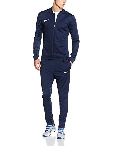 Nike Academy16 Knt Tracksuit 2, Chándal Para Hombre, Negro / Azul / Blanco (Obsidian/Obsidian/Deep Royal Blue/White), M