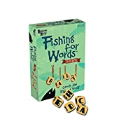 Fishing for Words, Dice Game, Word Game, Travel Game, Family Game, Bar Game, 2 to 4 players, ages 8 and up