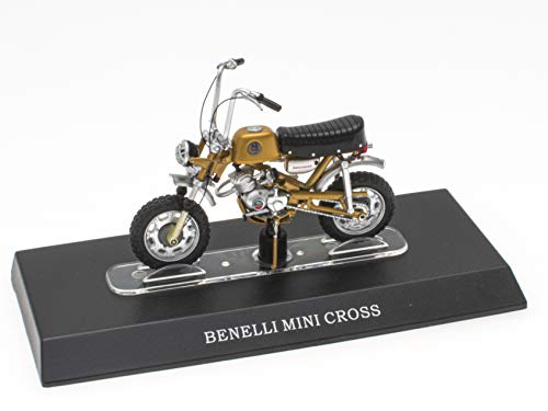OPO 10 - Benelli Mini Cross Mobylette Kollektion 1/18 (M09)