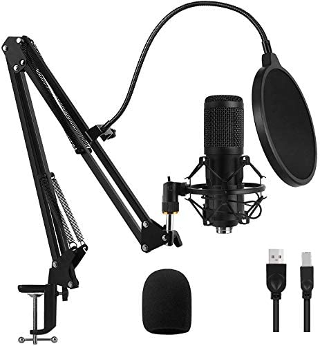 Top 10 Best condenser microphone for computer Reviews