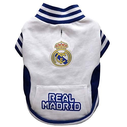 Real Madrid SU-01M-RM Sudadera para Perro, Talla M