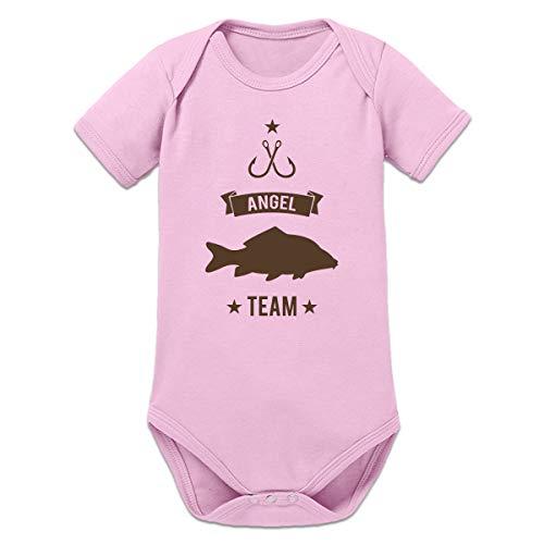 Shirtcity Karpfen Angel Team Baby Strampler by