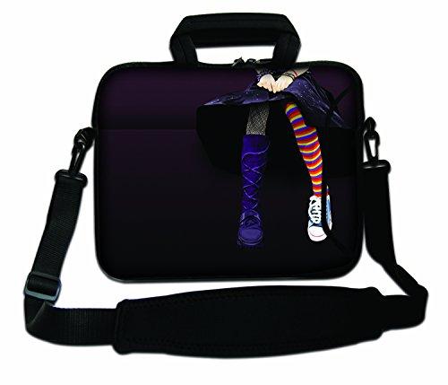 LUXBURG® 13-inch schoudertas notebooktas laptoptas tas tas met draagriem gemaakt van neopreen voor laptop / notebook computer