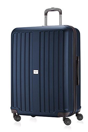 HAUPTSTADTKOFFER X-Berg - Maleta Rígida, Tamaño 75 cm, 119 litros, TSA, Color Azul Oscuro