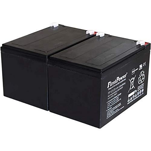 FirstPower Blei-Gel Akku für APC Smart-UPS SUA1000I 12Ah 12V VDs, 12V, Lead-Acid