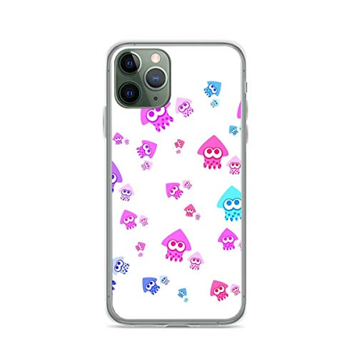 Phone Case Splatoon Compatible with iPhone 6 6s 7 8 X XS XR 11 Pro Max SE 2020 Samsung Galaxy Tested Funny Shock
