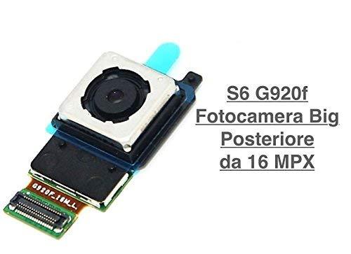 Fotocamera Posteriore Camera Big FLAT Flex PER Samsung Galaxy S6 G920 G920F 16MPX megapixel