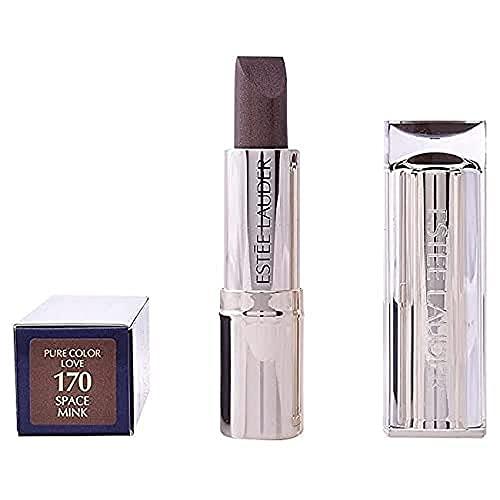 Estée Lauder Pure Color Love Lippenstift Flash Chrome, 170 Space Mink, 3.5 g