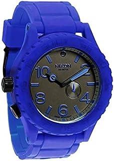 نيكسون ساعة كاجوال للنساء ، حزام بلاستيك ، ازرق - A236-306