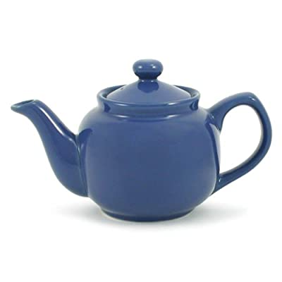 Blue Denim Classic 2 Cup Ceramic Teapot
