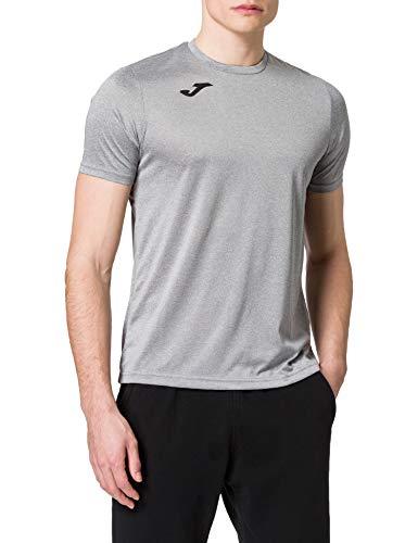 Joma Combi Camiseta Manga Corta, Hombre, Gris (Melange Claro