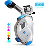X99 Snorkel Mask Foldable 180 Panoramic View Free Breathing Full Face Snorkeling Mask
