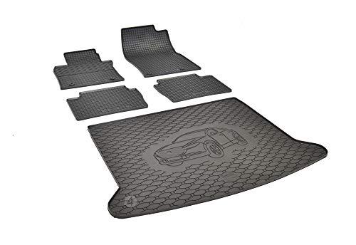 Passende Gummimatten und Kofferraumwanne Set geeignet für Mazda CX-30 ab 2019 + Gurtschoner
