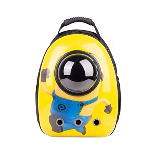 AllForYou Outdoor Travel Puppy Cat Backpack Carrier Bag Breathable Pet Space Capsule Mascotas Supplies for Cats Goats transporter dla kota