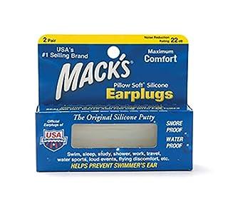 Mack's Pillow Soft Earplugs, 2 Pair Each (B001CC8KI4)   Amazon price tracker / tracking, Amazon price history charts, Amazon price watches, Amazon price drop alerts