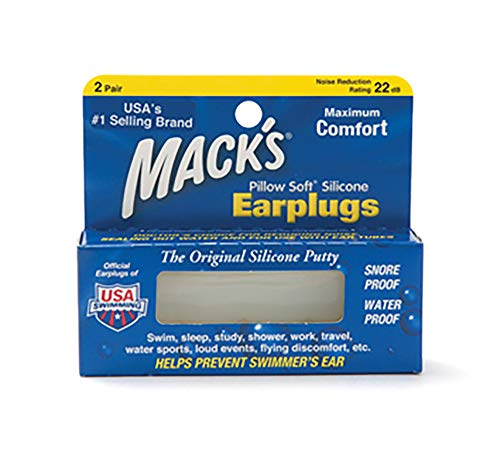 Mack's Pillow Soft Earplugs, 2 Pair Each