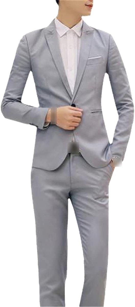 CACLSL Luxury Men's Wedding Suit Men's Suit Jacket Suit Formal wear Business Party Blue Classic red