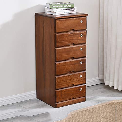 FPigSHS Opbergkast Locker Bestandskasten Sundries kast Met sloten en laden Nordic 4/5/+ vloer Massief hout slaapkamer Thuis Hoge capaciteit 3 kleuren beschikbaar