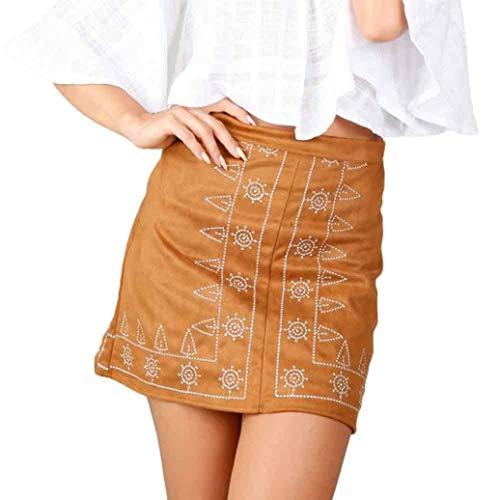 Minirok vrouwen mode suède stof A lijn Rock Slim naadloze modieuze stretch strak korte rok voor zomer kort eenkleurig mode slim fit dames