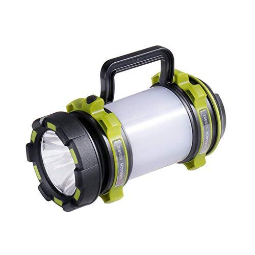 Yaxuan LED Outdoor Searchlight Super Bright Outdoor Palmare Portatile USB Ricaricabile Torcia Torcia Searchlight Multi-Funzione Lampada a scatti Lunghi