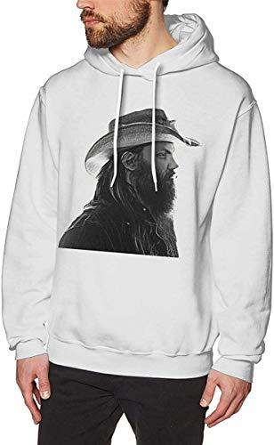 PvezTFi Chris Stapleton Men's Hoodie Sweatshirt Heavyweight Casual Long Sleeve Tshirt,Large