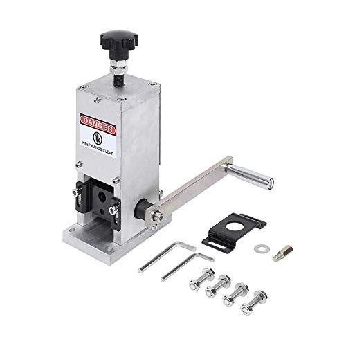 SISHUINIANHUA Maschine 1,5-25mm Schrott Abisoliermaschine Kabel Manuelle Abisoliermaschine Metall Recycling Tool Schrott Abisoliermaschine