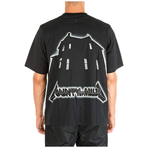 MARCELO BURLON Ghost House t-Shirt Uomo Nero XS