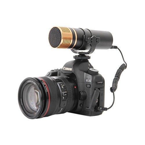Boya VM300PS - Micrófono para cámara réflex, Color Negro