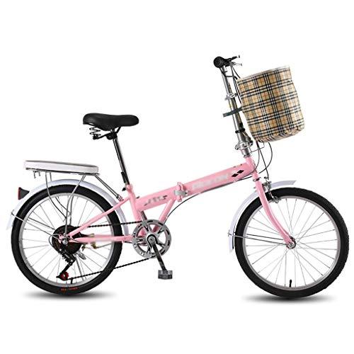 Bicicletas Deportiva eléctrica de montaña estabilizada Plegable portátil Que Absorbe los Golpes Velocidad Ultraligera de 20 Pulgadas