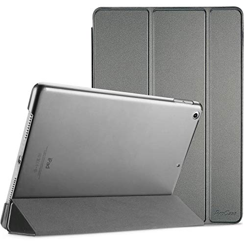 "ProCase iPad 10.2 Case 2020 iPad 8th Generation Case / 2019 iPad 7th Generation Case, Slim Stand Hard Back Shell Protective Smart Cover for 10.2"" iPad 8 / iPad 7 -Metallic"