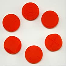 1 Set Analog Silicone Thumb Stick Grip Joystick Caps...