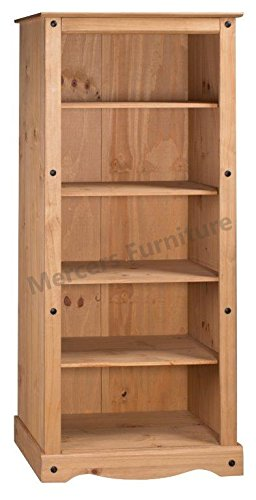 Mercers Furniture Corona Tall Large Bookcase