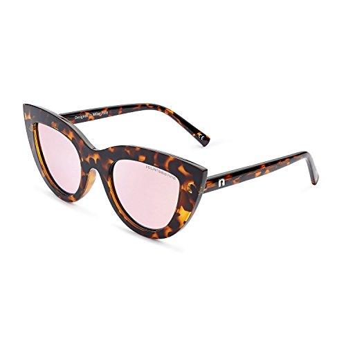 CLANDESTINE Gatto Habana Rose - Gafas de sol Polarizadas Hombre & Mujer