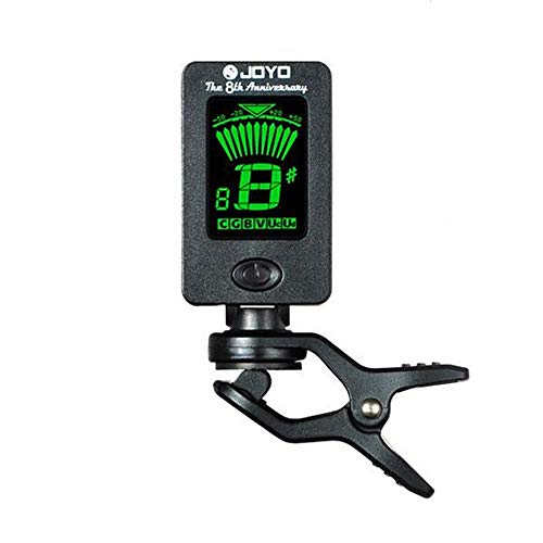 Yakamoz LCD Clip on Tuner for Acoustic Electric Guitar Bass Violin...